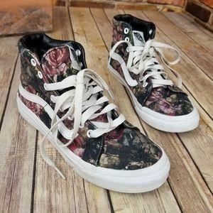 Vans Sk8-Hi bloody floral shoes 6 (4.5 Mens)